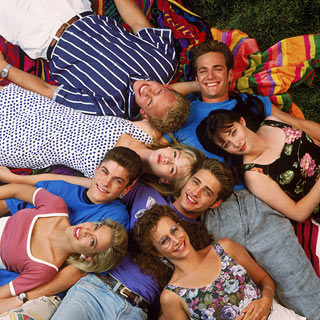 The Cast - Beverly Hills 90210